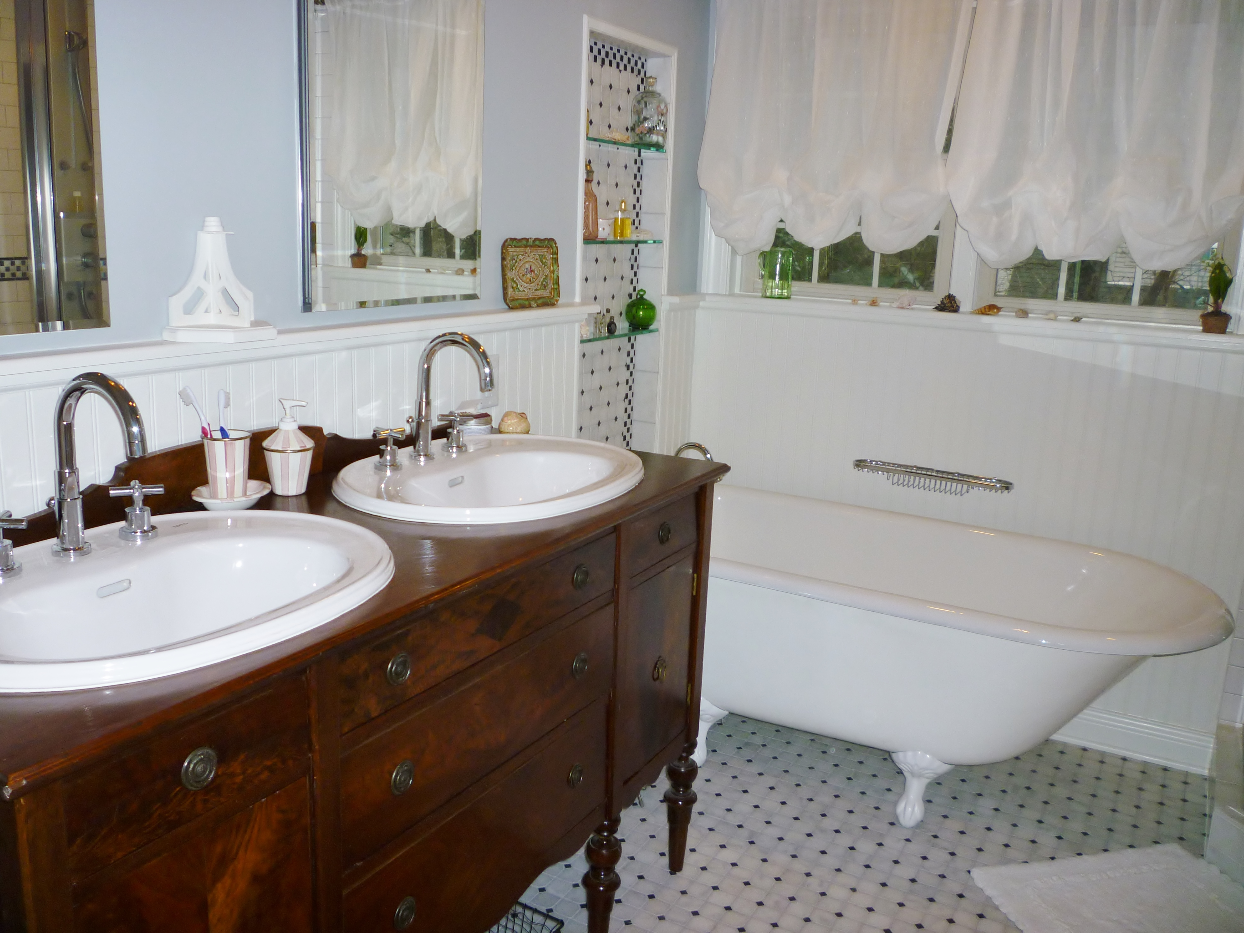 full-bathroom-remodel-complete-with-antique-buffet-repurposed-as-vanity