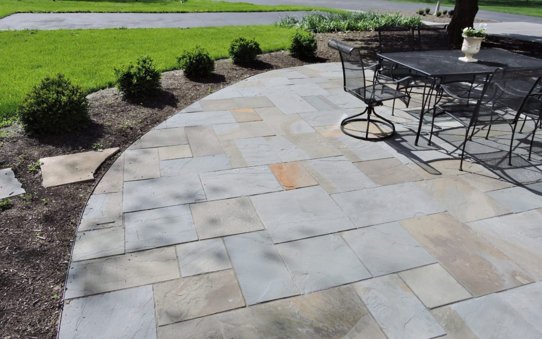 Slate Stone Julie : Pennsylvania blue slate patio kirkwood home landscape